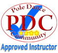 PDC Approved 4 star pole dancing instructor