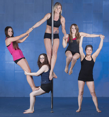 Anne Goswell Pole Dancing School