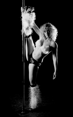 Becky Campey Pole Dance
