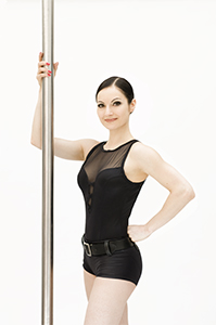 Elena Gibson Pole Dancing Portrait Picture