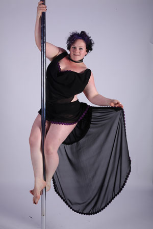Gemma Hopkins Pole Fitness Instructor