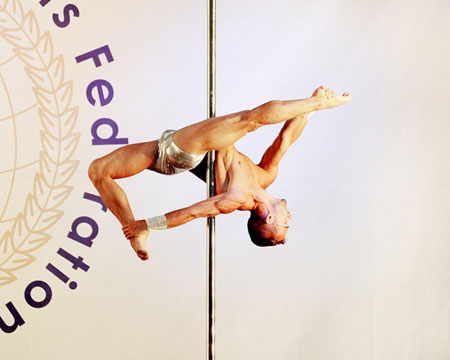 Guilherme Wandresen male pole dancer