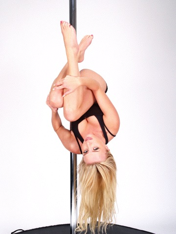 Holly Gibbons Pole Dancing Bomb