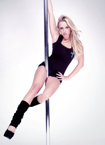 Holly Gibbons Pole Dancing portrait