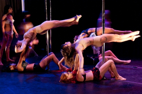 Jagged Pole Dancing Discrimination