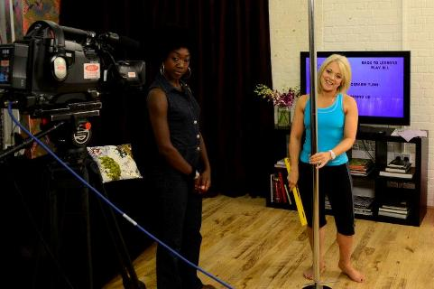 Karen Currie pole dance tv