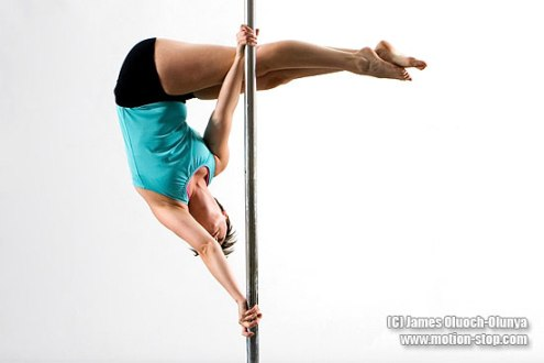 Kate Johnstone pole dancer