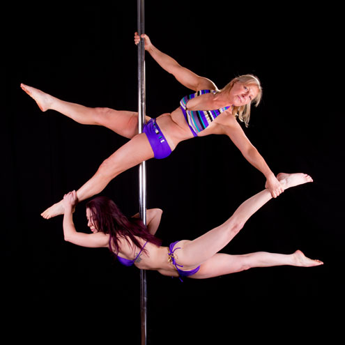 Oldest pole dancing student
