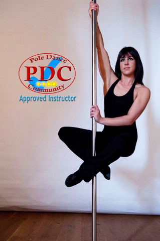 Sarah Brown Approved Pole Dancing Instructor