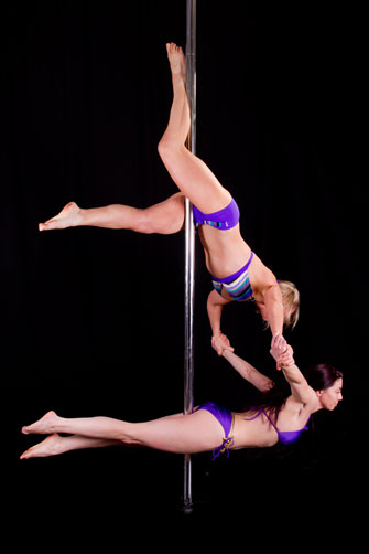 UK oldest pole dance student