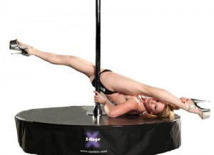 Alethea Austin X-stage pole dancing picture