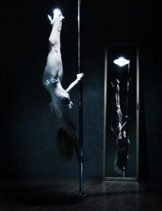 Alethea Austin pole dancing picture