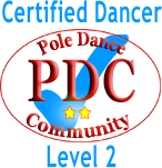 pole dancer level2 logo