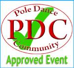 Approved Pole dancing event