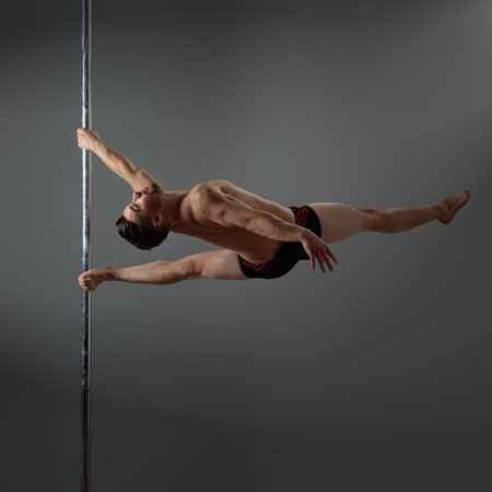Aaron Darby Pole Dance Performer