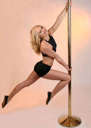 Alina Schmidt Crazy pole instructor training