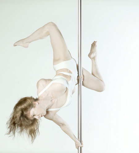 Angie Voluti Pole Dancing Instructor
