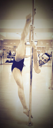 Ciro Esposito Pole Dancing Instructor