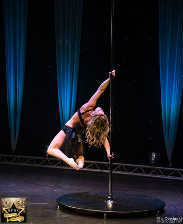 Claire Cotterill Pole Fitness teacher
