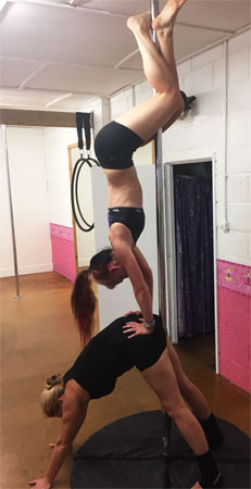 Clare Kuzniar Pole Dancing Instructor