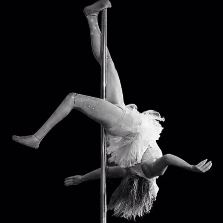 Dayna Wetherall Pole Dancer