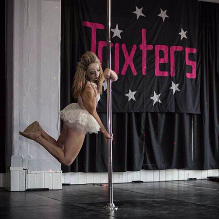 Dayna Wetherall Pole Dancer beats disability