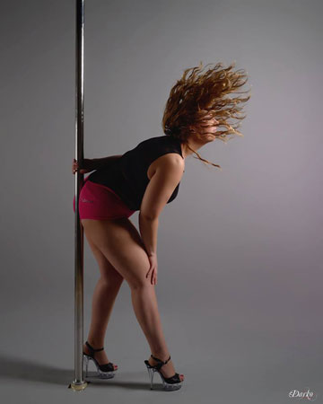 Gemma Dear Pole Dancing Award