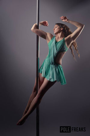 Holly Munson Approved Pole Dancing Instructor