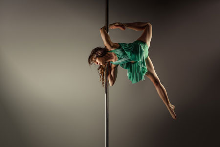Holly Munson Pole Dancer