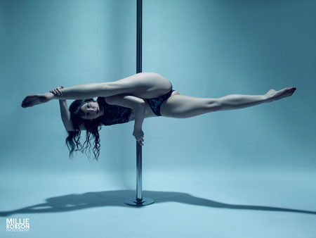 Holly Munson Pole Fitness Teacher