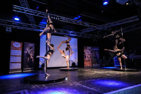 Inter University Pole Dance Competition Warwick