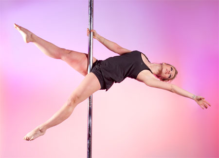 Jane Cole Pole Perfect Fitness Dancer