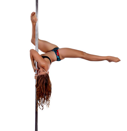 Justine mclucas pole dance instructor