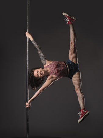 Kassia Portas Pole Dance Teacherr