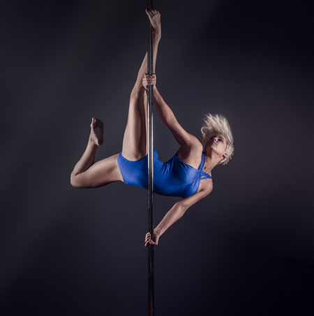 Kirstie Tancock Xtreme Pole Dancer