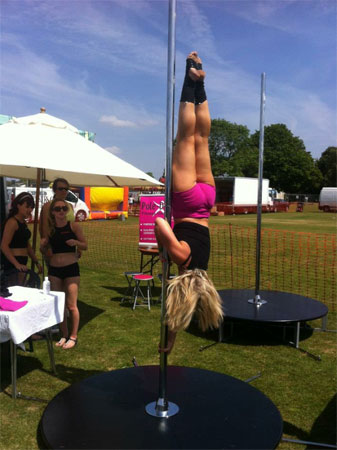 Lisa Henderson Pole Fitness Instructor
