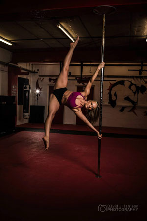 Lucille Marshall Pole Dancer