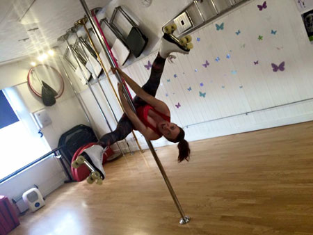 Mandy Williams Pole Instructor