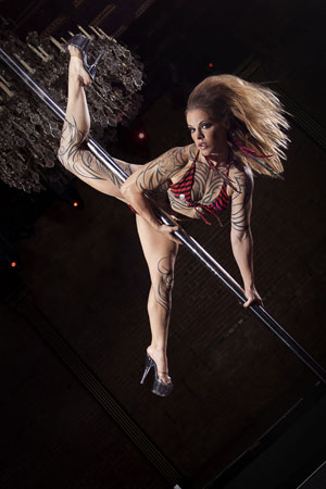 Pantera Blacksmith Pole Dance Pioneer Syllabus