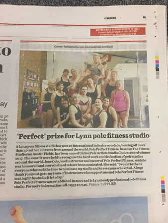 Pole Perfect Fitness News