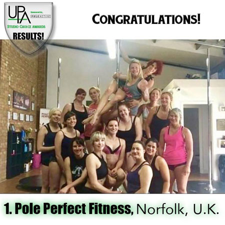 Pole Perfect Fitness Studio Award