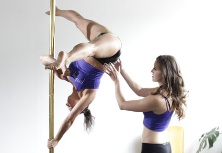 Polepeople Pole Fitness Spotting