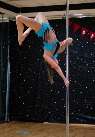 Stages Pole Fitness Alex Copley
