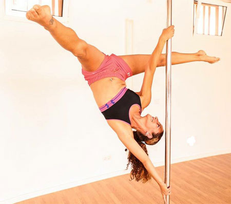 Stefania Roberto PDC Approved Pole Instructor