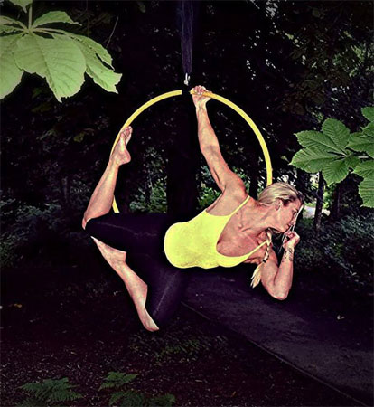 Suzanne potter aerial dance instructor