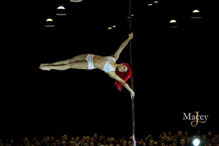 United Kingdom Professional Pole Championships Jess Leanne Norris