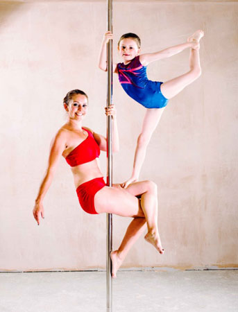 Virginia Zdesar Pole Dancer Mother