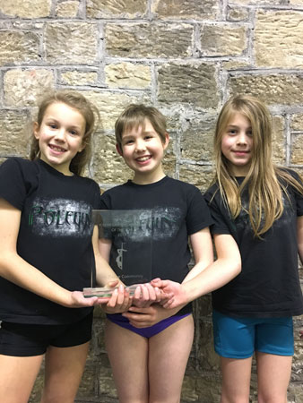 Youth Pole Dance Graded Students