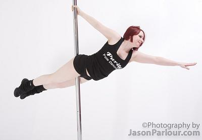 Jolene Parlour Pole Dancing Picture Superman