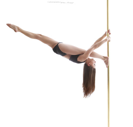 Alexandra Vojtku Pole Dance teacher